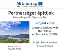 Interreg projekt - Crossing Bridges with the Help of Ambassadors